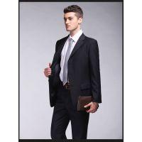 供应笑影服饰吸湿排汗行政商务西服套装加工定做、焦作订做职业装、焦作现货西服