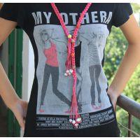 YS0002 陶瓷首饰品 瓷珠编织腰带 腰链 腰饰 毛衣链批发 女式项链