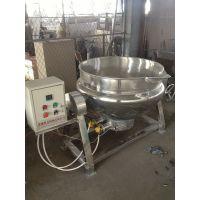 厂家供应 不锈钢材质 电加热夹层锅 休闲食品熬糖锅