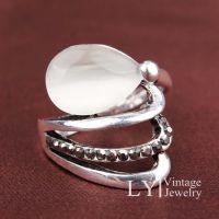 欧美爆款复古戒指饰品镶玻璃宝石指环新品批发速卖通货源圣诞外贸