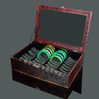 40展位手镯盒 高档玉镯展示盒 手镯托盘 珠宝玉器展示道具