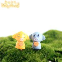 藓而易见 微景观生态瓶摆件 卡通可爱小猪猪情侣公仔 动漫小动物