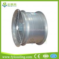 small kitchen inline in line ventilation duct high speed motor cooling axial ac tower fan impeller blade
