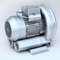 喷水织机用高压鼓风机 小功率气环式真空泵 旋涡气泵 吹吸两用风机 低噪音风机
