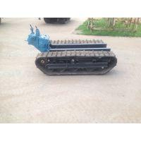 徐州中地ZD-800橡胶履带底盘 农用收割机履带底盘 运输车底盘