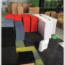 供应河南山东塑料防滑的展厅PP地板 多功能洗车房拼接格栅 河北华强400*400*18