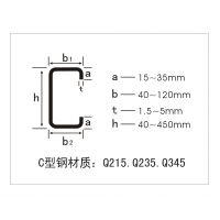 热镀锌c型钢厂家18232812169