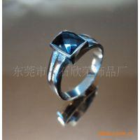 东莞大量供应镶钻不锈钢戒指  情侣钻戒  戒指