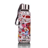 米奇万花筒随手瓶 隔热耐热 防烫 儿童卡通杯 迪士尼品牌杯 促销