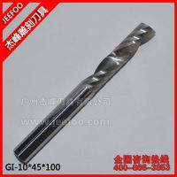 (单品)10*45*100L 单刃螺旋铣刀 切割整体钨钢铣刀 亚克力水晶板