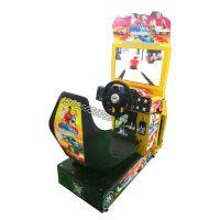 新款电玩娱乐儿童投币迷你环游赛车 小型赛车游戏机厂家直销