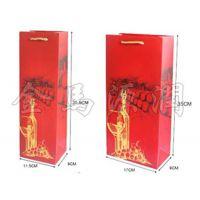 酒杯纸质红酒袋(木箱,皮盒,酒具,酒刀,酒架,醒酒器,木盒,北京酒盒,特价酒盒)