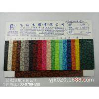 意大利压变豹纹皮革PVC2014新款热压变色豹纹动物纹PVC水刺底皮革