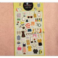 F004 韩国文具 清新卡通日记贴纸 创意迷你手机装饰贴