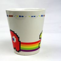 厂家热转印涂层杯批发 年会杯子定制 促销礼品杯
