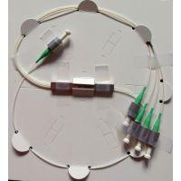 供应湖北1064nm1x4保偏光纤分束器(微型封装)