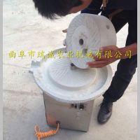 优质电动砂岩石石磨机 多功能水磨豆浆机 豆浆石磨