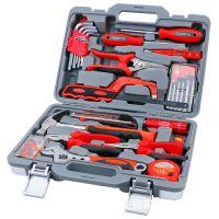 拓进 38件家用组合工具箱套装 家庭维修五金工具机修组合工具组套