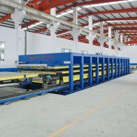 国森玻璃钢冷藏车厢板成型设备生产线