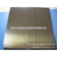 真空电镀不锈钢板 镀钛不锈钢板 佛山彩色不锈钢板厂 金色钛金板