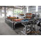 UV Resistant Roof Panel Roll Forming Machine , PVC Plate Electric Rolling Machine