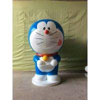 讯昶雕塑美陈定制玻璃钢雕塑叮当猫树脂机器猫哆啦A梦卡通模型现货出售
