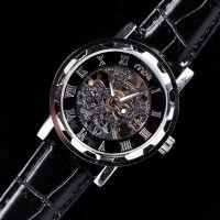 速卖通爆款镂空自动机械表 高档男款手表 钢带腕表货源厂家批发