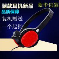 通音101音乐mp3电脑头戴式耳机手机耳机带麦克风重低音装机赠送