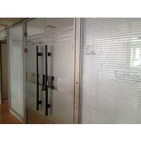 供应河南高隔间 环保型玻璃隔断铝合金型材 百叶