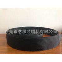 【银艺织带】黑色,特厚,重磅,强拉力,坑纹尼龙织带的生产厂家
