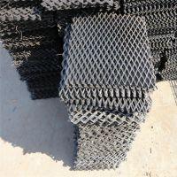 重型钢板网#建筑用网#黑片冲孔拉伸片