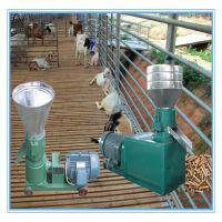 万能粮食加工饲料造粒机 干湿秸秆平模饲料颗粒机 优质供应