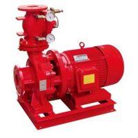 泉柴11kw消防水泵XBD2/27.8-100L-125消防喷淋泵 单级室外消火栓泵