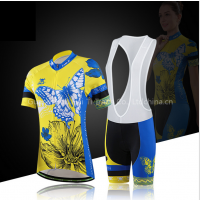 Short-sleeved riding suit suit female summer quick dry sweat sweater factory direct
