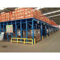 海格里斯钢结构平台仓储货架厂供应信息钢制堆垛式