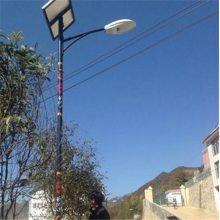 新农村锂电池太阳能路灯6米7米8米 LED高杆灯厂家