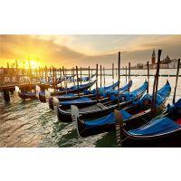 楚风木船制造安徽宿州7米豪华型威尼斯贡多拉厂家 澳门酒店水上游船