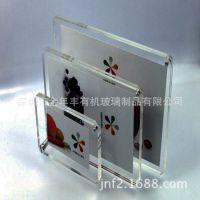 厂家生产定做 多功能透明亚克力相框相架 压力咖胶片相框相架