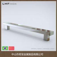 家具拉手 不锈钢 现代简欧式拉手 橱柜门衣柜小拉手抽屉把手