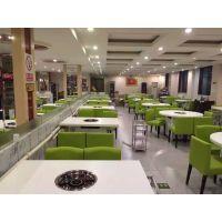 专供食堂餐桌椅-酒店餐桌椅-新款餐桌餐椅-学校食堂桌椅-简约现代-天津绿鼎家具厂