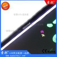 索彩QB-70*50铝合金边框荧光板电子发光广告板展示板工厂批发代理