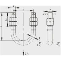 供应鸿煜牌连接金具U型螺丝U形螺丝U-1880