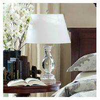 现代简约时尚布艺台灯卧室床头客厅灯具灯饰创意学习欧式布艺白色