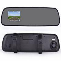 大量批发凌通方案HD后视镜行车记录仪夜视性价比保险