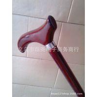 厂家特供批发 防滑平头拐杖  木质登山杖、老人手杖