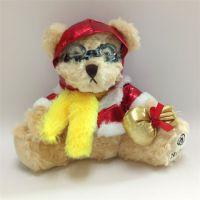 2016创意航空泰迪熊毛绒玩具公仔活动礼品 来图打样定制
