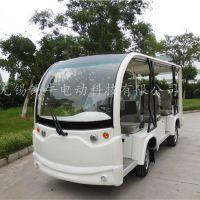 锡牛 连云港8座电动观光车,酒店接送游览车,房产看房车