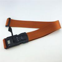 厂家定制尼龙电子称行李带 一字打包带 tsa行李箱打包绳 免费设计