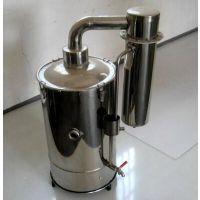 全新不锈钢电热蒸馏水器产品,断水自控蒸馏水器维护保养