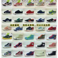 杂款童鞋 悠悠米奇品牌瑞安儿童帆布鞋批发 尹志奎特价清仓鞋5.30